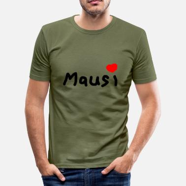 Mausi Mausi - Slim Fit T-shirt herr