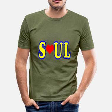 Soul SOUL - slim fit T-shirt