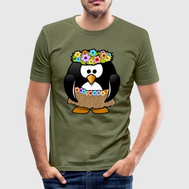 Ola Ola on vacation in Hawaii - Men's Slim Fit T-Shirt