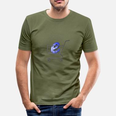 Shopping Shopping - Männer Slim Fit T-Shirt