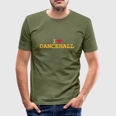 Love Dancehall - Slim Fit T-shirt herr