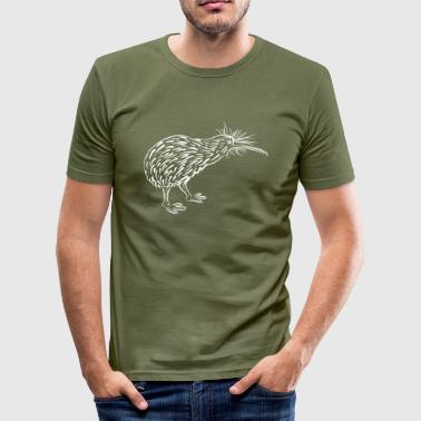 Kiwi - Männer Slim Fit T-Shirt