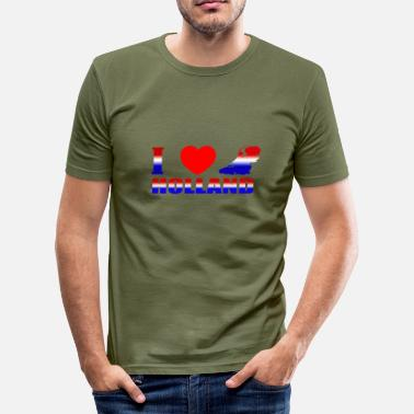 Hollande HOLLAND - T-shirt moulant Homme