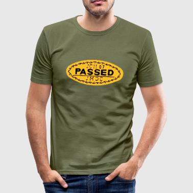 PASSED - Männer Slim Fit T-Shirt