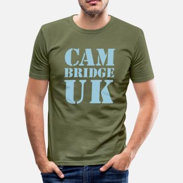 Cambridge Cambridge UK - Men's Slim Fit T-Shirt