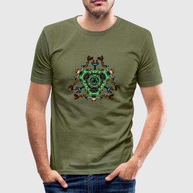 Portal - Männer Slim Fit T-Shirt