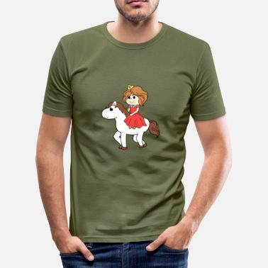 Certificaat Princess Royal-certificaat Geschenkidee - slim fit T-shirt