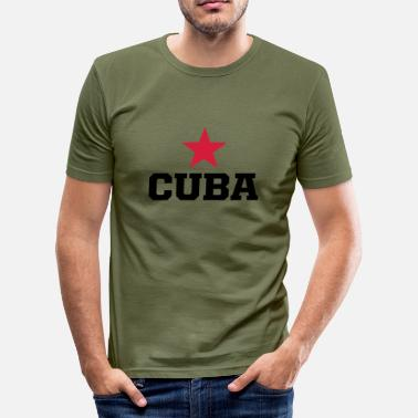 Cuba cuba revolucion - Men's Slim Fit T-Shirt