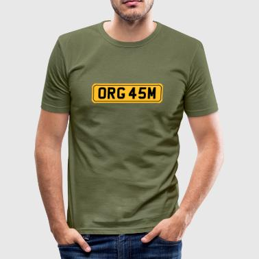Orgasm - Men's Slim Fit T-Shirt