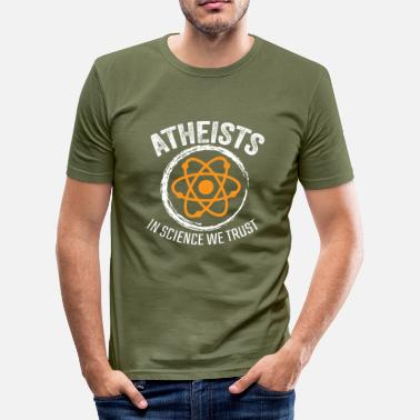 Atheist Religion atheist - Men's Slim Fit T-Shirt