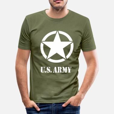 Army US Army 07 - T-shirt près du corps Homme