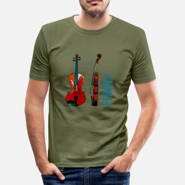 Fiddle fiddle - Men's Slim Fit ...