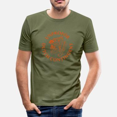 Unprofor UNPROFOR Dutch Contingent - slim fit T-shirt