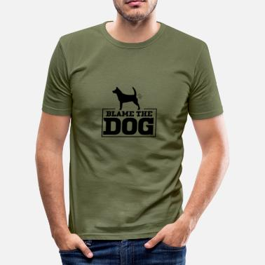 Blame The dog is to blame - Blame the dog - Men's Slim Fit T-Shirt