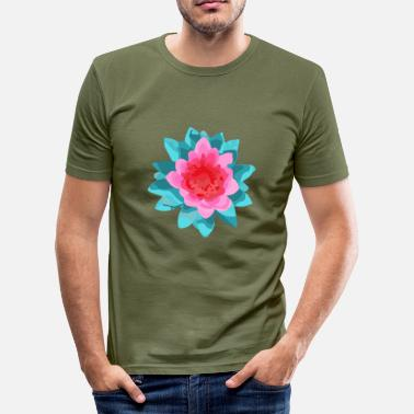 Bloeien bloeien - slim fit T-shirt