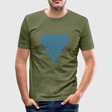 Diamant Diamanter i Diamanter - Herre Slim Fit T-Shirt