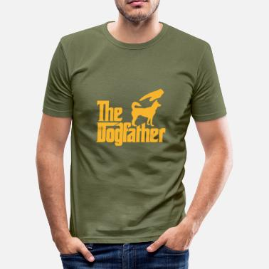 The Dogfather - Men's Slim Fit T-Shirt