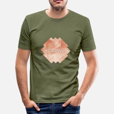 Polar Polen - Polen - Slim Fit T-shirt herr