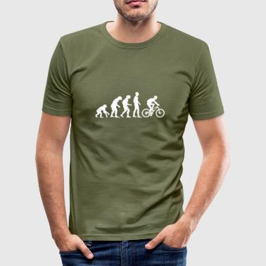 Bike Evolution BIKE EVOLUTION! - Men's Slim Fit T-Shirt
