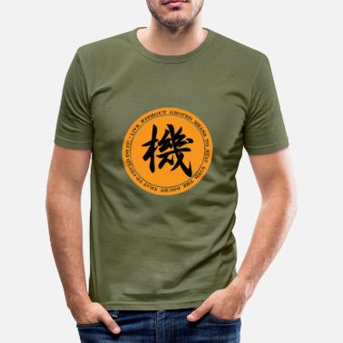 Gelegenheit Gelegenheit - Männer Slim Fit T-Shirt
