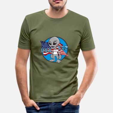 Benny Benny- USA - Men's Slim Fit T-Shirt