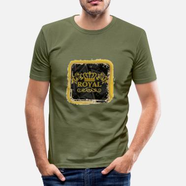 Royal Club REGALO REGALO ROYAL CLUB - Maglietta aderente da uomo