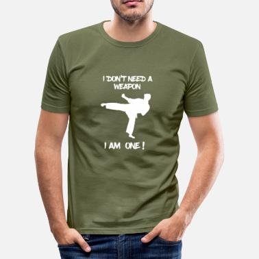 Martial Arts Martial Arts - Martial Arts - Martial Arts - Karate - Men's Slim Fit T-Shirt