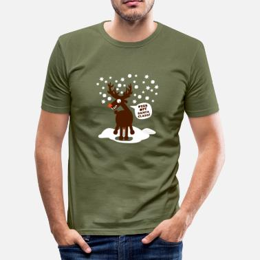 Weihnachten anti-christmas - Männer Slim Fit T-Shirt