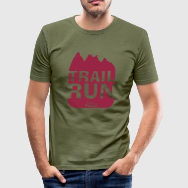 Trail Run - Männer Slim Fit T-Shirt