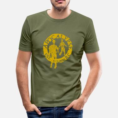 Tlc zombies gold - T-shirt moulant Homme