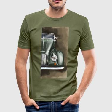 Plus 8 front_grün.png - Slim Fit T-shirt herr