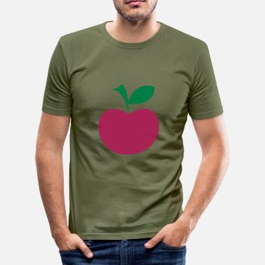 Frutta æble - Herre Slim Fit T-Shirt