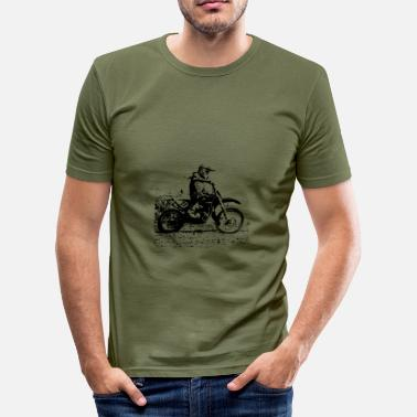Motocross enduro - T-shirt moulant Homme