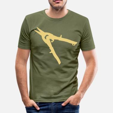 Shearing secateurs shears tool profession - Men's Slim Fit T-Shirt