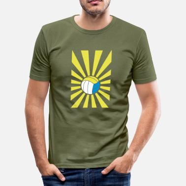 Beach Volleyball beach volleyball - Slim Fit T-skjorte for menn