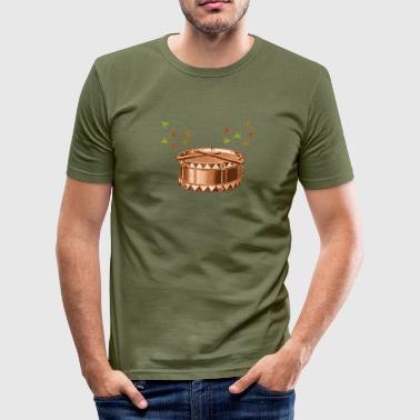 drum-roll - Men's Slim Fit T-Shirt