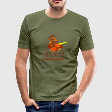 currywurst - Männer Slim Fit T-Shirt