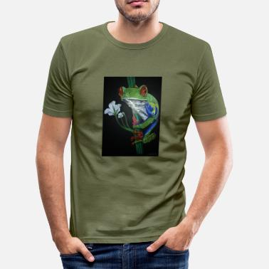 Frog frog frog - Men's Slim Fit T-Shirt
