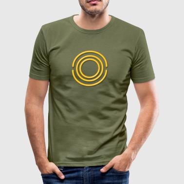 OOS - Protection Force, yellow, digital, Antares System, Protection Symbol,  - Slim Fit T-shirt herr