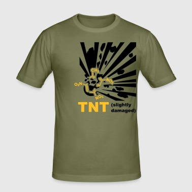 TNT - Explosion - Slim Fit T-shirt herr
