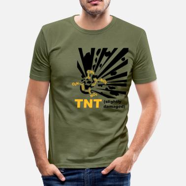Pyromaniac TNT - Explosion - Men's Slim Fit T-Shirt