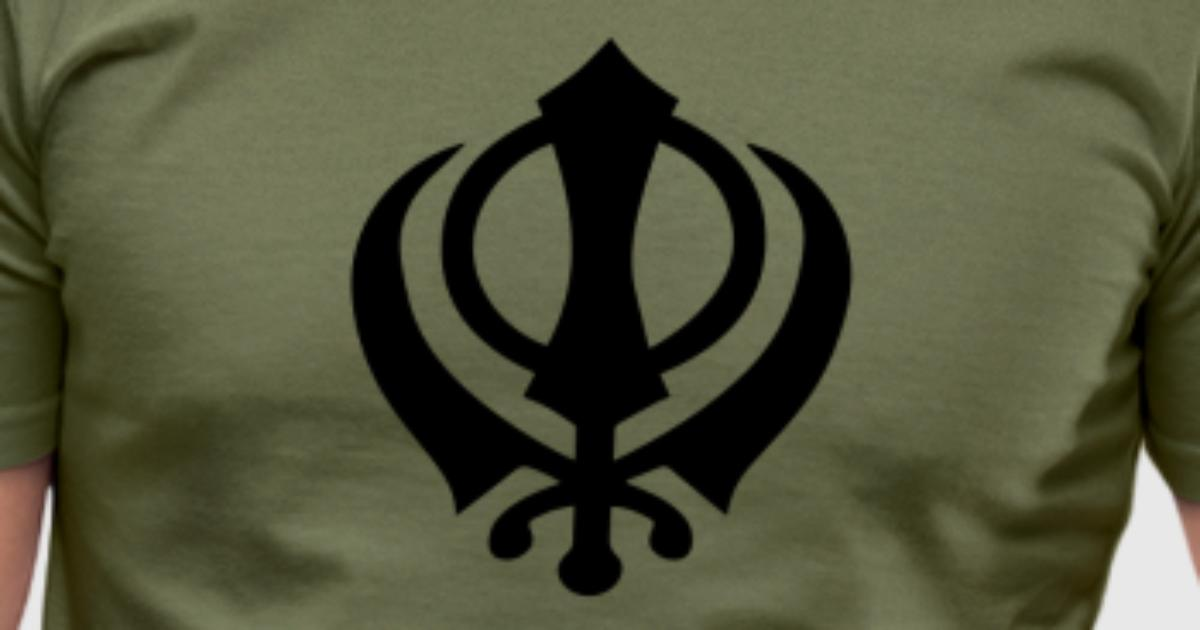 Khanda Sikh Symbol Swords Religion Sikhism By Yuma Spreadshirt