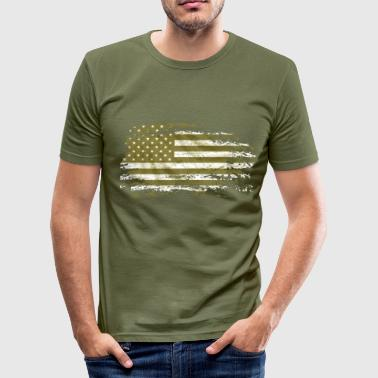 us army grunge style - Tee shirt près du corps Homme
