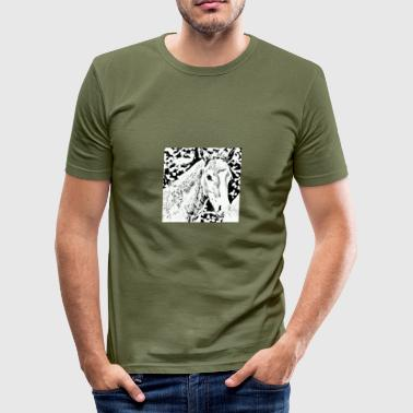 Beautiful foal - Men's Slim Fit T-Shirt