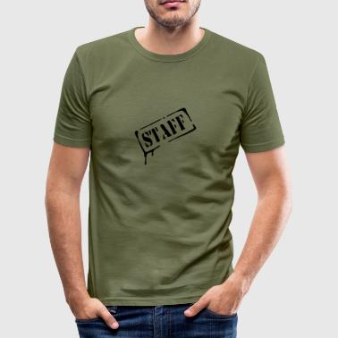 staff, crew, vip - Men's Slim Fit T-Shirt