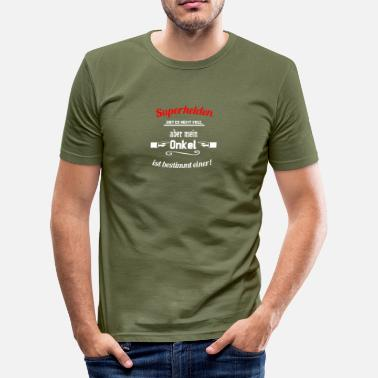 Onkel Nicht Alle Superhelden Superhelden Onkel - Männer Slim Fit T-Shirt