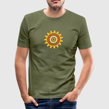 cogwheel - Men's Slim Fit T-Shirt
