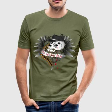 No More War - slim fit T-shirt