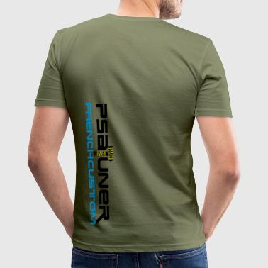French Custom - Männer Slim Fit T-Shirt
