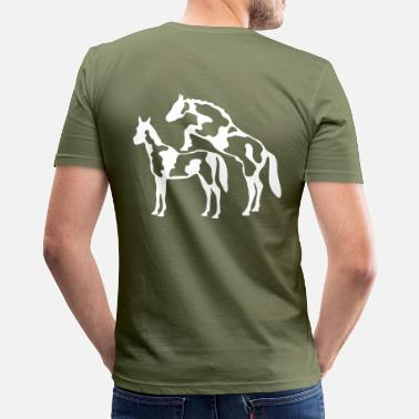 Reproduction horse reproduction - Men's Slim Fit T-Shirt